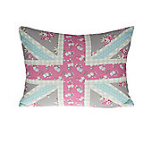 Dreams n Drapes Petticoat Union Jack Cushion Cover - 38x28cm