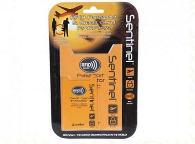 Summit RFID Passport Case with Credit Card Protectors