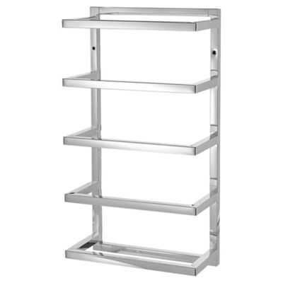 Buy Lloyd Pascal Wall Mounted Towel Storage, Chrome from our ...