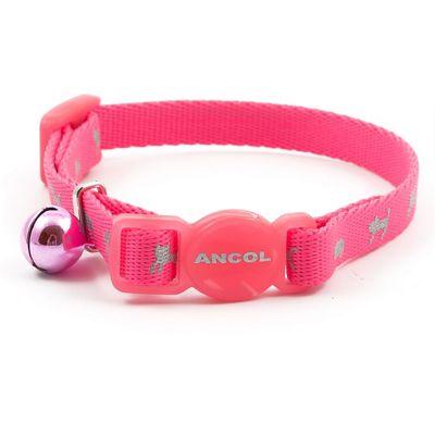 Ancol Hi-Vis Kitten Collar - Pink
