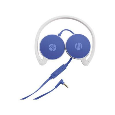 HP H2800 Binaural Head-band Blue headset 2800 Stereo DF