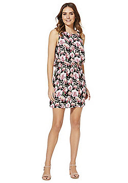 JDY Sleeveless Floral Dress - Multi