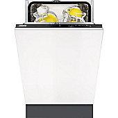 Zanussi ZDV12004FA 9 Place Slimline Built-in Dishwasher with 5 Programs, Class A