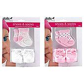 Dolls World Shoes and Socks