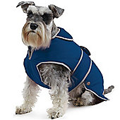 Ancol Navy Blue Stormguard Dog Coat - Small