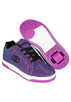 Heelys Split Purple/Aqua Kids Heely Shoe - Purple