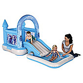 AirproTech Junior Disney Frozen Bouncy castle House, Ramp and Pool