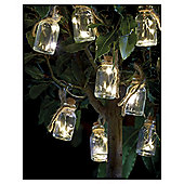 8 Mason Jar Solar String Lights