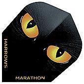 Harrows Marathon Night Hawk Ruthless Standard Darts Flights Pack of 10
