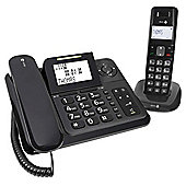 Doro Comfort 4005 Combo Telephone with Answering Machine - Black