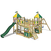 Climbing Frame Wickey Smart King With Green Slide