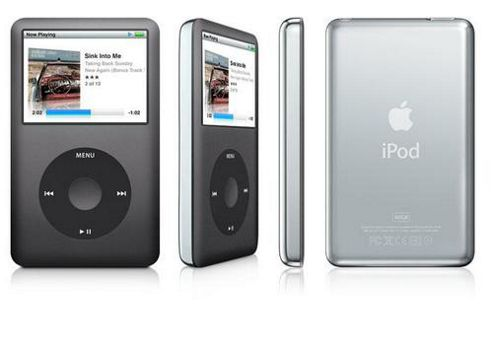 Apple MC297 iPod Classic 160GB - Black