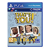 That's You PS4 (A Playlink Title)