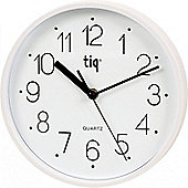 22.5cm Tiq Primetime Analogue Wall Clock