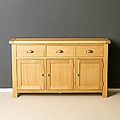 Truro Oak Sideboard - Large Sideboard - Oiled Oak