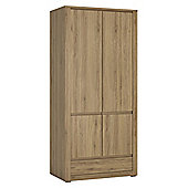 Hobby 2 Door 1 Drawer Wardrobe