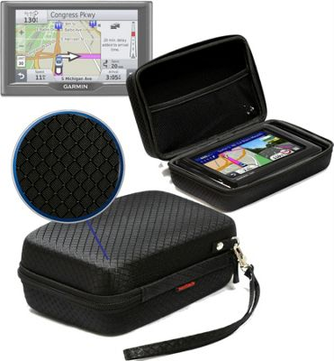 Navitech Black Hard Carry Case Cover For the Garmin Drive / DriveSmart 50 and 60