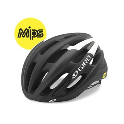 Giro Foray MIPS Road Bike Helmet Black/White