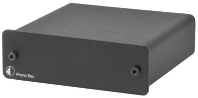 PROJECT PHONO BOX Mk2 TURNTABLE PRE-AMPLIFIER (BLACK)