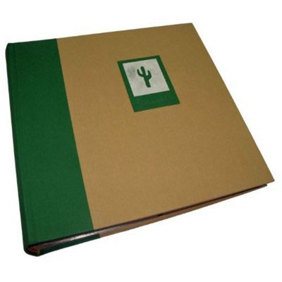 Buy Kenro Greenwood Memo Photo Album With Green Cactus Design Holds