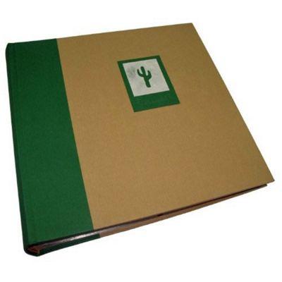 Buy Kenro Greenwood Memo Photo Album With Green Cactus Design Holds