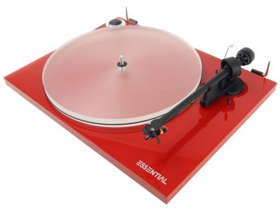 Project Essential III Turntable (Red)