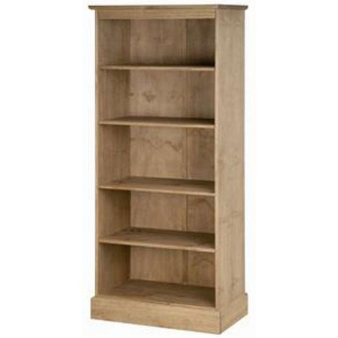 Cotswold Tall Waxed Pine Bookcase
