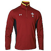 Under Armour Wales 1/4 Zip Training Top 2017 - Red