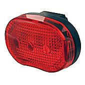 Smart 3 LED Rear light Red (2xAAA batt. inc.)