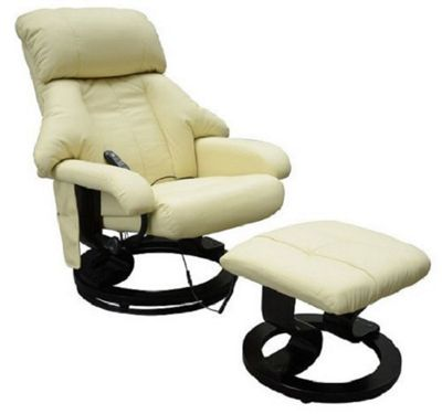 buy homcom luxury fuax leather recliner electric massage chair heat