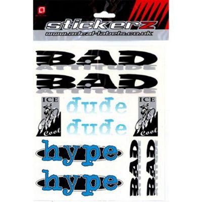 Adcal 'Bad Attitude' Sticker Set