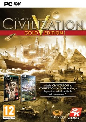 Civilisation V Gold Edition (PC)