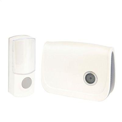 Lloytron B7011WH 150M 32 Melody Wireless Door Chime Kit - White