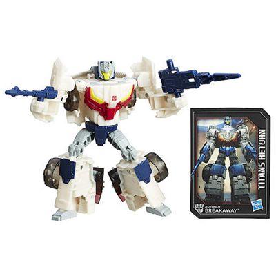 Transformers Generations Deluxe Autobot Throttle and Breakaway Figure