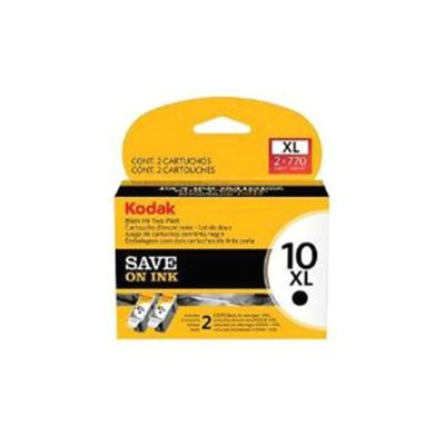 Kodak No.10XL Black Ink Cartridges (Twin Pack)