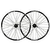 Wilkinson Disc / Shimano Deore 9 Speed 650B Black Rear Wheel