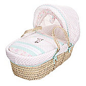 OBaby Minnie Mouse Moses Basket