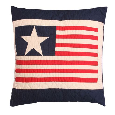 Woven Magic Independence Day-Tea Dyed Cushion