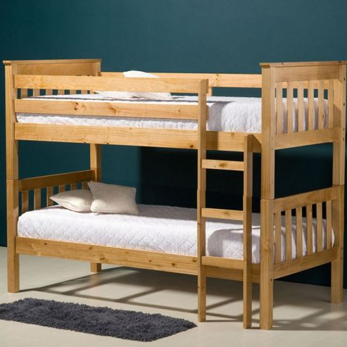 Seattle Bunk Bed - Pine