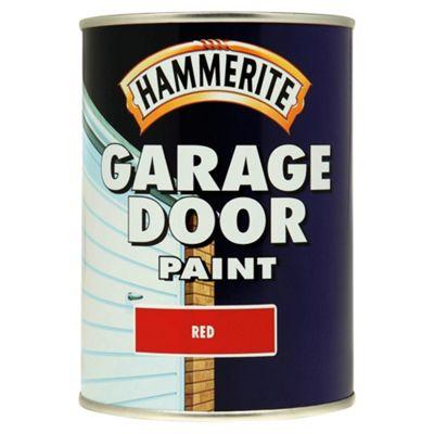 Hammerite Garage Door Paint Red 0.75L
