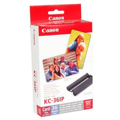 Canon KC-36IP Canon Ink Color + 36 Sheet Paper (86x54mm)