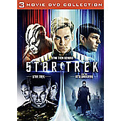Star Trek / Star Trek Into Darkness / Star Trek Beyond DVD