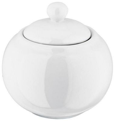 Judge Ivory Porcelain Sugar Bowl