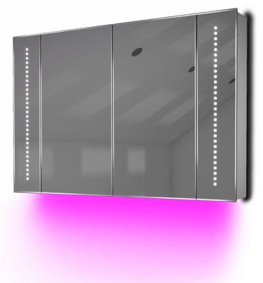 Ambient Demist Bathroom Cabinet With Sensor & Internal Shaver Socket K75P