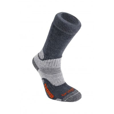 Bridgedale Mens Wool Fusion Trekker Sock Gunmetal M