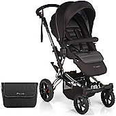 Jane Crosswalk Pushchair (Black/Chrome)