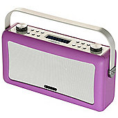 ViewQuest Hepburn DAB/DAB+/FM Radio with Bluetooth (Radiant Orchid)