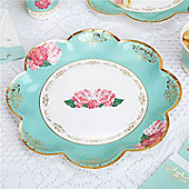 Eternal Rose Plates - Paper Party Plates 26cm
