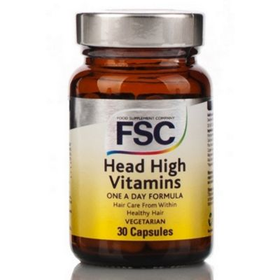 Fsc Head High Hair Vitamins 60 Veg Capsules