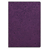 My Little Pony Retro Pony Pattern Flexi Cover A5 Notebook, Purple
